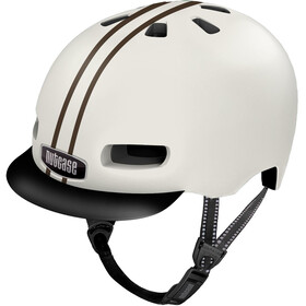 Nutcase Street MIPS Helmet leather bound stripe gloss